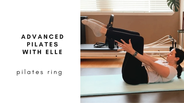 advanced pilates with elle