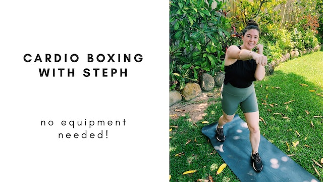 8.18.20 cardio boxing with Steph