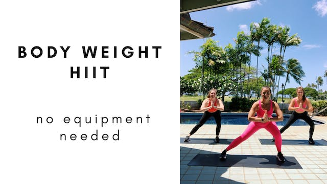 7.02.20 HIIT with steph & gracie