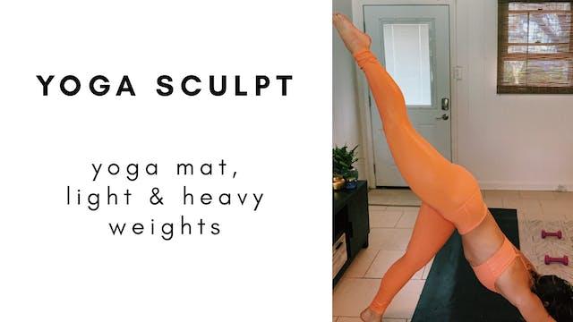 5.28.20 yoga sculpt