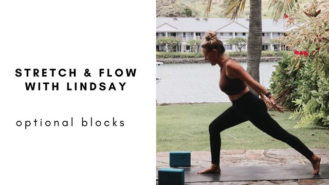 stretch & flow with lindsay