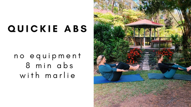 6.20.20 quickie abs with marlie
