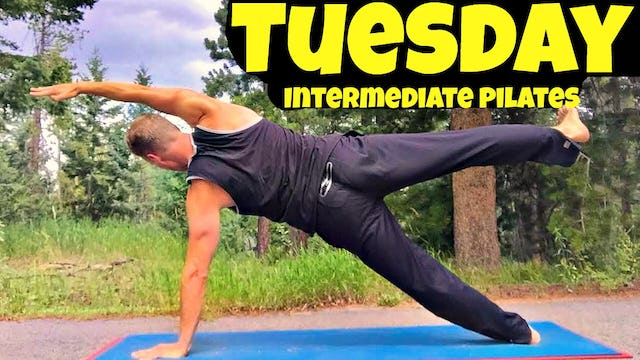 Tuesday - Total Body Intermediate Pilates Workout - 7 Day Pilates Challenge