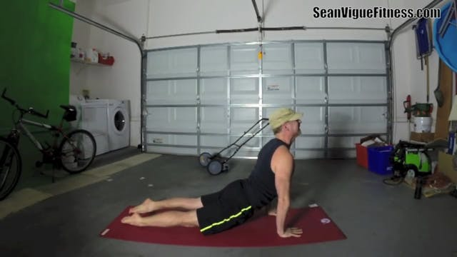 Hot and Sweaty Yoga Workout - Classic Sean