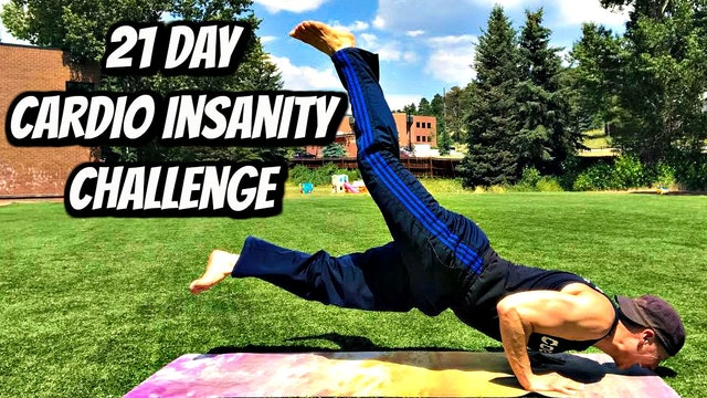 21 Day Cardio Training Insanity - WEIGHT LOSS