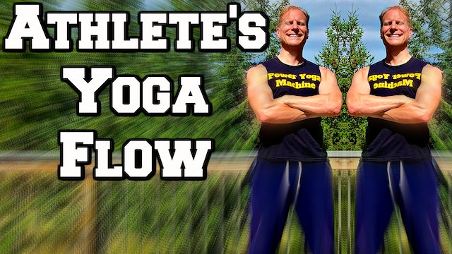 20 Minute Yoga for Athletes and Improved Athletic Performance