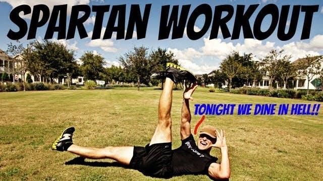 Spartan Warrior Workout - 5 Exercises