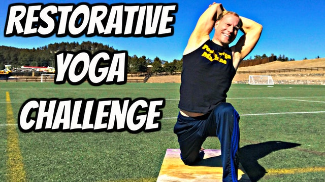 Day 1 - Smooth Energy Flow - Restorative Yoga Challenge