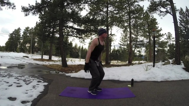 "15 Min ""BUTTS and GUTS"" Cardio Fat Burner"