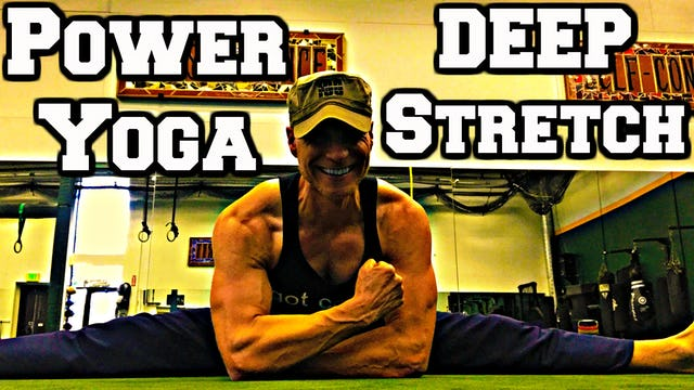 Ninja Power Yoga Core & DEEP Stretch - part 3 of 3