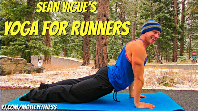 Beginner Yoga for Runners Flow - 10 Yoga Stretches for Runners
