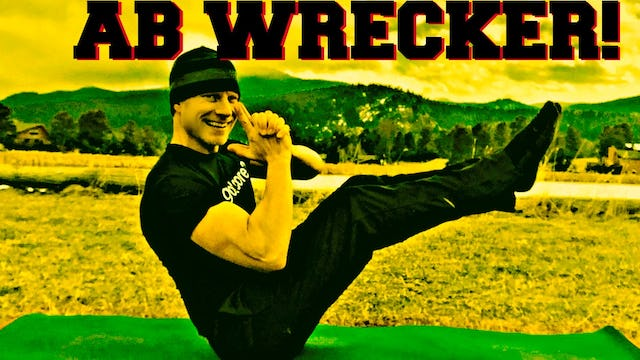 8 min AB WRECKER WORKOUT - Bodyweight Only Exercises