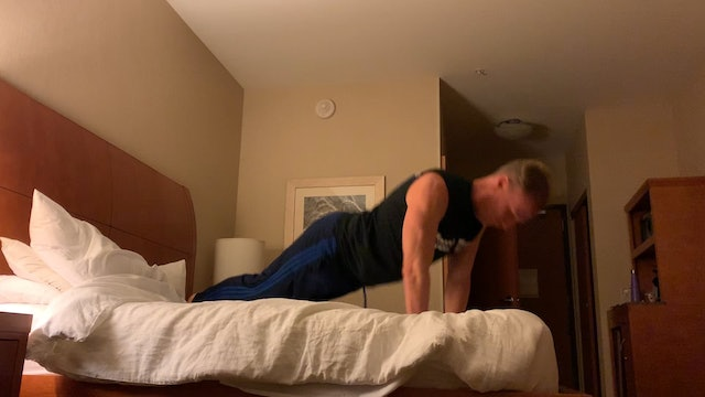 Iowa Hotel Room Push Ups