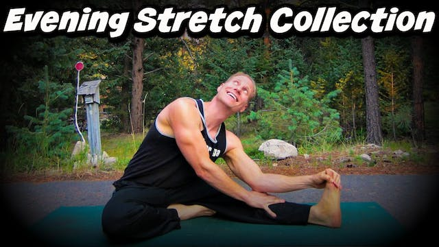 Evening and Nighttime Yoga Stretch Collection
