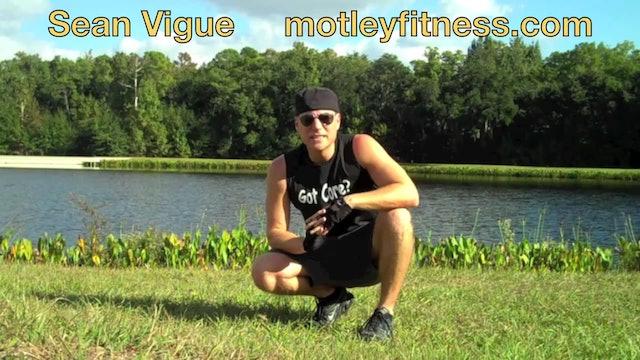 KILLER Bodyweight Leg Workout - Classic Sean