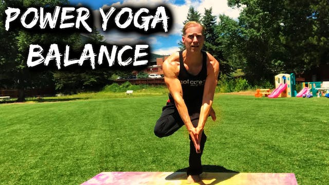 Power Yoga Conditioning Balance Stren...