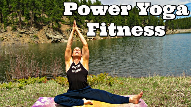 Stimulating Power Yoga Fitness Workout
