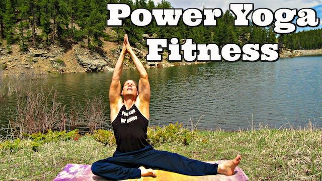 Stimulating Power Yoga Fitness Workout