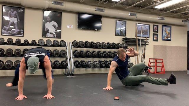 Kick Through Cardio Challenge with Brian