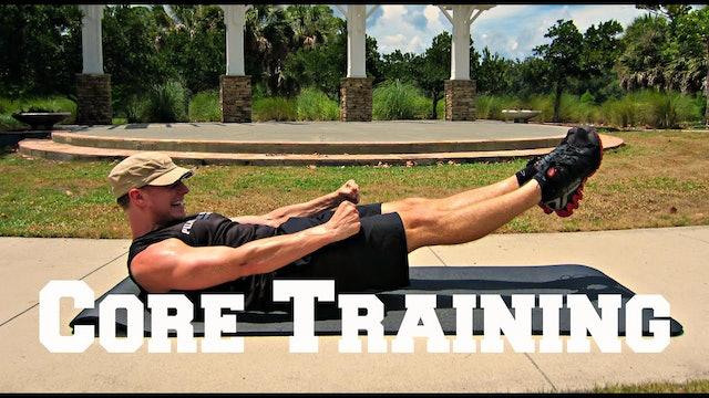 Core Training for Athletes Challenge - 3 Part Program