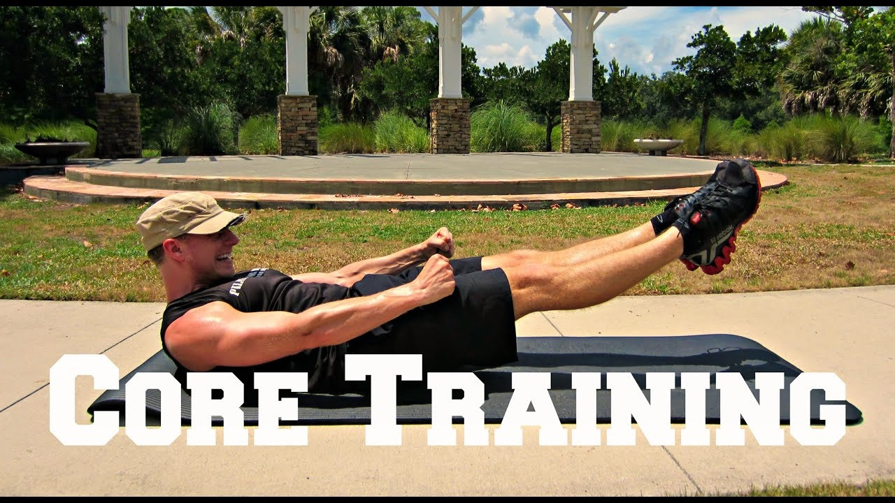 Core Training for Athletes Challenge - 3 Part Program