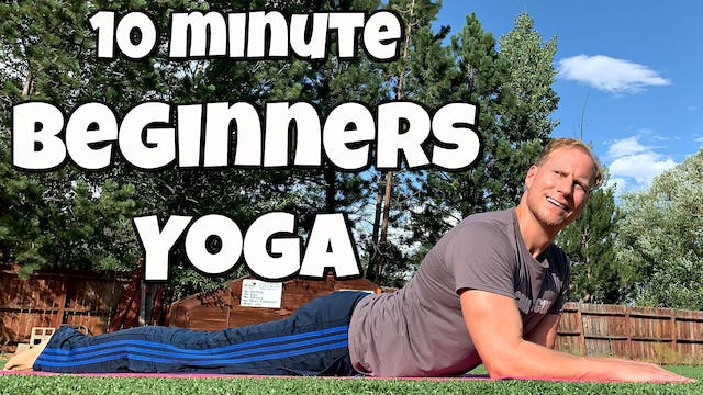 10 minute Complete Beginner Yoga Routine