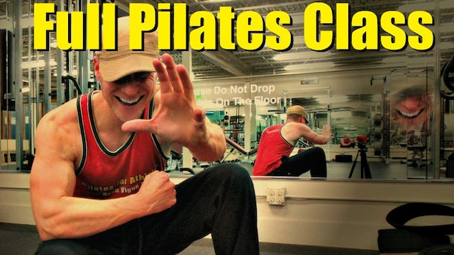 Sean's Personal 20 Minute Pilates Abs Workout