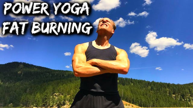 FAT BURNING Power Yoga Conditioning Workout