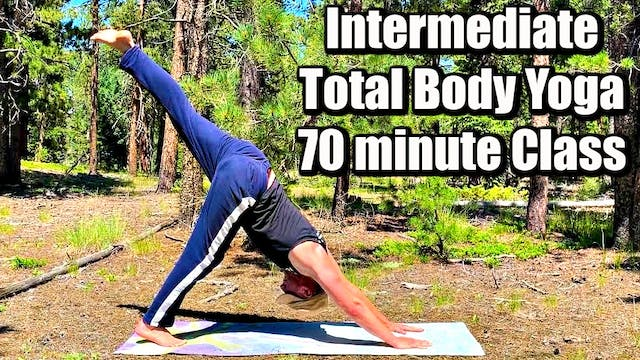 NEW 70 minute Total Body Yoga Class -...