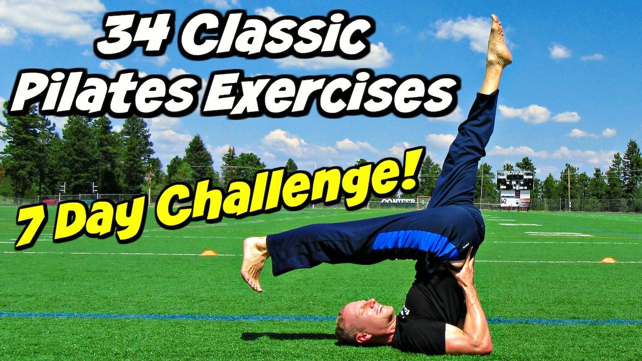 7 Day Classic Pilates Challenge