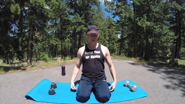 7/28 Big Power Yoga with Dumbbells Workout Challenge