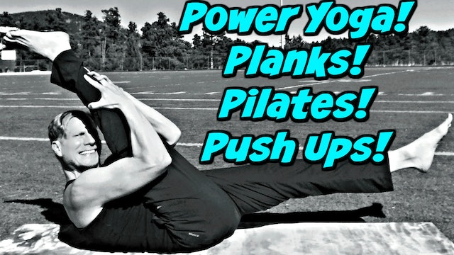 Day 2 - Power Yoga, Planks, Pilates & Push Up Challenge