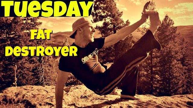 Day 2 -  Wretched Fat Destroying Workout - 7 Day Fat Burning Challenge