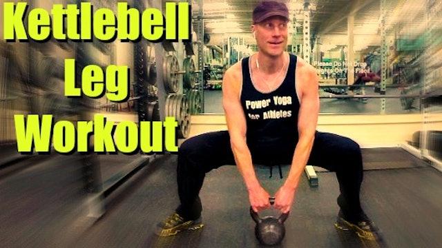 5 Min Kettlebell Leg and Butt Workout