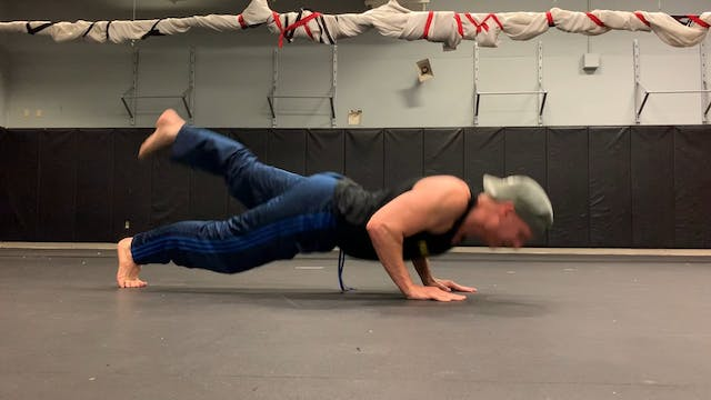 One Legged Push Up Burnout