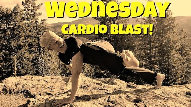 Day 3 - Sweaty Cardio Blast Fat Burning Workout - 7 Day Fat Burning Challenge