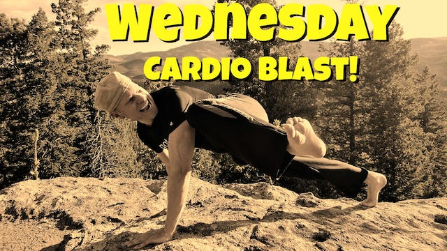 Day 3 - Sweaty Cardio Blast Fat Burning Workout - 7 Day Fat Burning Challenge