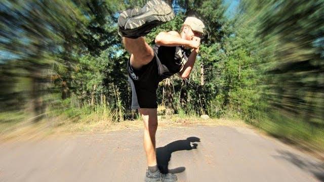 BRUTAL Cardio Leg and Butt Bodyweight Workout