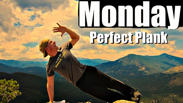 Monday - The Perfect Plank Workout - Sean's 7 Day Fitness Challenge
