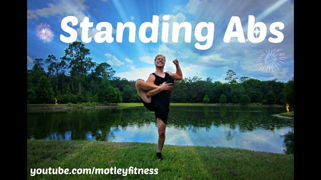 Standing Abs Workout - 10 minute workout