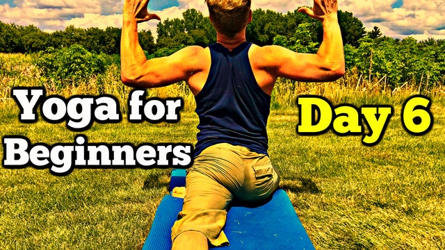 Day 6 - Yoga for Back Pain - Sean's 7 Day Beginner Yoga Challenge