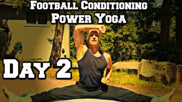 Day 2 - Yoga Core/Abs - Power Yoga Challenge