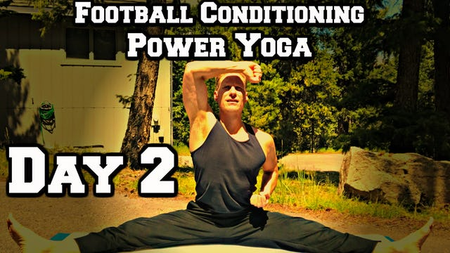Day 2 - Yoga Core/Abs - Power Yoga Challenge