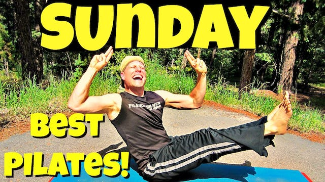 Sunday - The Ultimate Pilates Workout Class - 7 Day Pilates Challenge