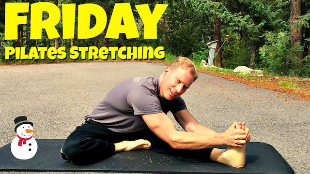 Friday - Restoration and Flexibility Pilates Workout Routine - 7 Day Pilates Challenge