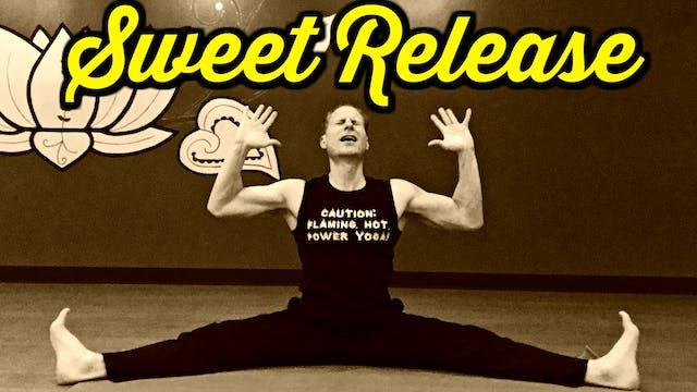 SWEET RELEASE Straddle Yoga Stretch R...