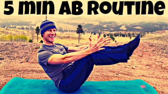 5 Min INTENSE Core/Abs Workout