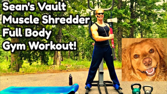 Vault: Muscle Shredder Full Body Gym ...