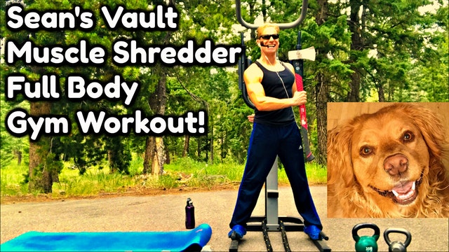Vault: Muscle Shredder Full Body Gym Workout