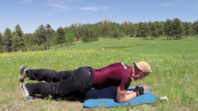 Home Chest and Plank Workout